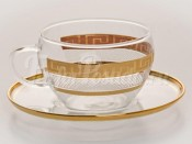 """Набор для чая """"Эва"""" чашка и блюдце на 6 перс. 12 пред."""