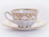 """Набор для чая """"Мария 202"""" чашка 200 мл и блюдце на 6 персон 12 предметов"""
