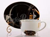 """Набор для чая """"Watch"""" чашка и блюдце"""