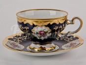 "Набор для чая ""С.Петербург 866"" чашка 210мл. и блюдце на 6 перс. 12 пред."