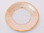 """Набор тарелок """"Лист бежевый"""" 19 см. 6 шт."""