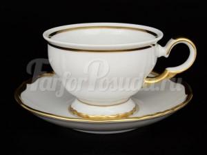 """Набор для чая """"АГ 841"""" 160 мл 6 чашек 6 блюдец"""