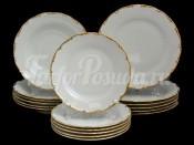 """Набор тарелок для сервировки стола """"АГ841"""" 18шт."""