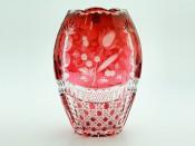 "Ваза для цветов ""Арнштад рубин Тюльпан"" 26см."