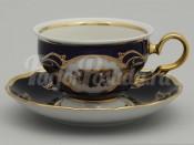 "Набор для чая ""Роза золотая роза АГ846""(чашка+блюдце)160мл. на 6перс.12пред."