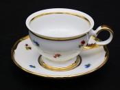 """Набор для чая """"Полевые цветы АГ852""""(чашка+блюдце)160мл.на 6перс.12пред."""