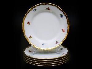 """Набор тарелок """"Полевые цветы АГ852"""" 17см. 6шт."""
