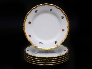 """Набор тарелок 19см. """"Полевые цветы АГ852"""" 6шт."""