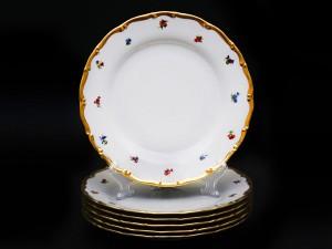 """Набор тарелок 25см """"Полевые цветы АГ852"""" 6/1"""