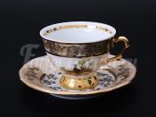"""Набор для кофе мокко """"Охота медовая""""(чашка100мл.+блюдце) на 6перс.12пред."""