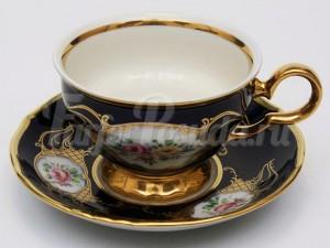 "Набор для чая ""Полевой цветок АГ855""(чашка+блюдце)160мл.на 6перс.12пред."