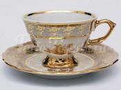 "Набор для чая ""Роза медовая""(чашка150мл.+блюдце) на 6перс.12пред."