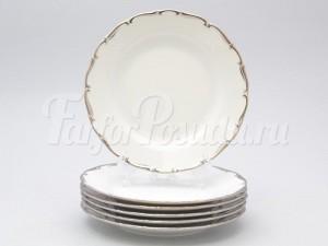 "Набор тарелок ""Платина АГ902"" 17см."