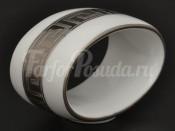 """Кольцо для салфетки """"Медуза-2софт платина"""" набор 6шт."""