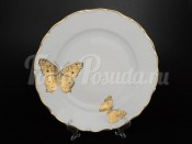 """Блюдо круглое """"Бабочки"""" МГ858 30 см"""