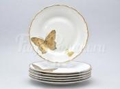 """Набор тарелок 25 см 6/1 """"Бабочки 858"""""""