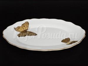 "Хлебница 36 см ""Бабочки 858"""