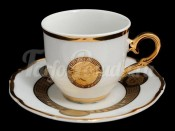 "Набор для чая ""Медуза МГ879""(чашка+блюдце)110мл. на 6перс.12пред."