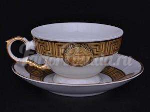 "Набор для чая ""Медуза МГ879""(чашка+блюдце)160мл.на 6перс.12пред."
