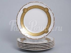 """Набор тарелок """"Медуза МГ879"""" 17см.6шт."""