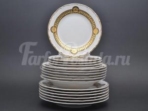 "Набор тарелок для сервировки стола ""Медуза МГ879"" 18шт."