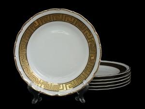 "Набор тарелок ""Версаче МГ880"" 17см. 6шт."