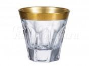 "Набор стаканов из богемского стекла ""Аполло Голд"" 230 мл."