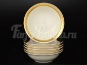 """Набор салатниц 13 см """"Gold Ornaments cream-3064"""""""
