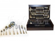 Набор столовых приборов 75 предметов на 12 персон Ankara в деревянной коробке.