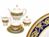 """Чайный сервиз """"Империал Кобальт"""" на 6 персон 21 предмет"""