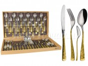 Набор столовых приборов из 51 предмета  Dubai Oro