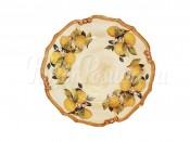 Блюдо круглое Итальянские лимоны