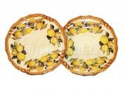 Набор из 2-х десертных тарелок Итальянские лимоны