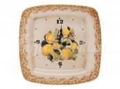 Настенные часы Итальянские лимоны