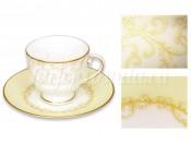 Чашка с блюдцем Версаль