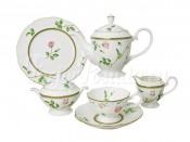 Чайный сервиз из 16 предметов на 6 персон Цветущие аллеи