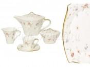 Чайный сервиз 17 предметов на 6 пресон Весна