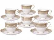Набор  для кофе Золотой вихрь