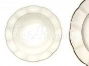 Набор из 6 суповых тарелок  Золотой лотос