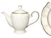 Чайник  с крышкой Золотой лотос