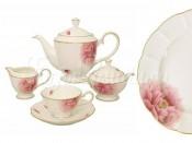 Чайный сервиз 17 предметов на 6 пресон Пион