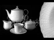 Чайниый сервиз из 17 предметов на 6 пресон Шёлк