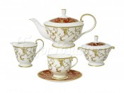 """Чайный сервиз """"Анатолия"""" из 15 предметов на 6 персон"""