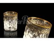Набор: 6 хрустальных стопок для водки Старая Флоренция