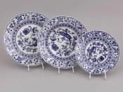 "Набор тарелок 18 предметов ""Гжель Мэри-Энн"""
