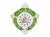 """Часы настенные гербовые 27 см """"Охота Зеленая Мэри-Энн"""""""