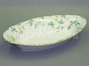 """Корзина для хлеба 33 см """"Зеленые листья Мэри-Энн"""""""