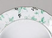 """Набор тарелок мелких 6 шт. 25 см """"Зеленые листья Мэри-Энн"""""""