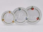 """Набор тарелок 18 предметов """"Фруктовый сад Мэри-Энн"""""""