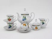 """Чайный сервиз """"Фруктовый сад Мэри-Энн"""" 6 персон 15 предметов"""